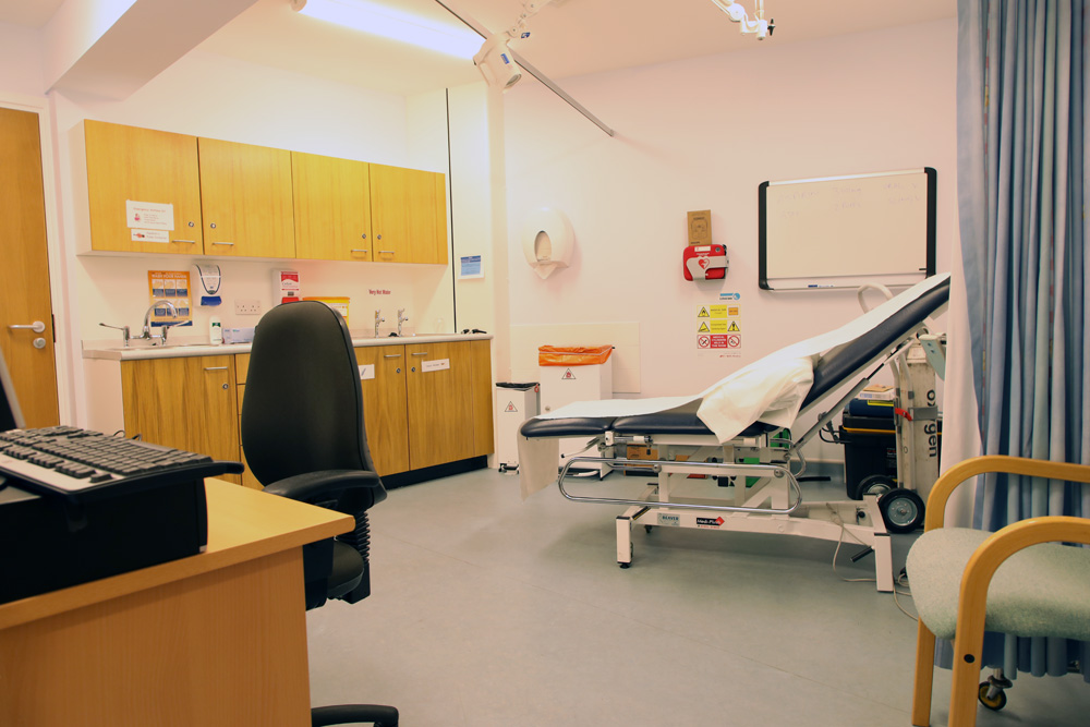 Photo of a consulting room