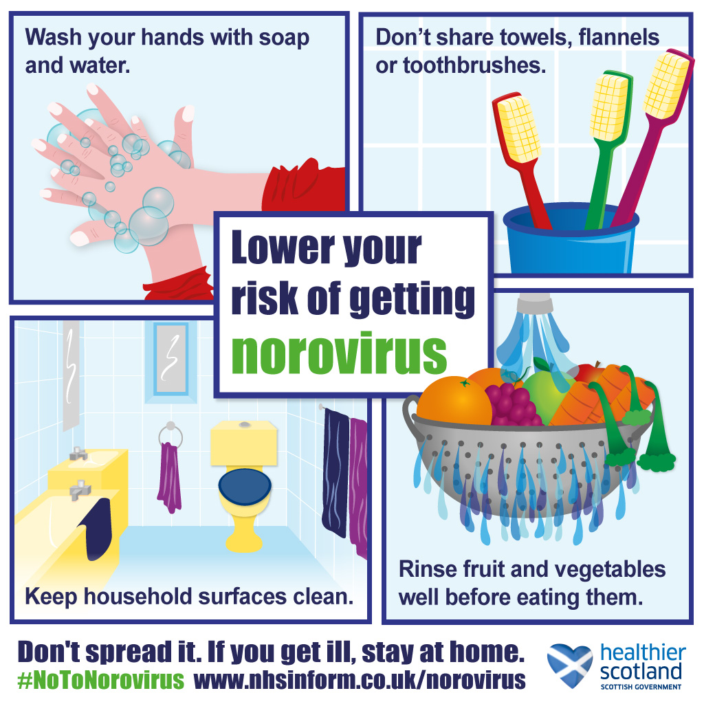 Norovirus: lower your risk
