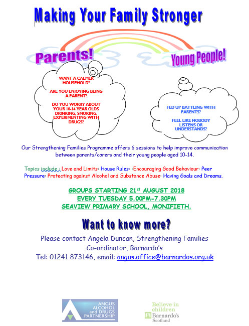 Image of Strengthening Families Poster
