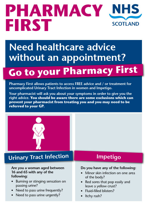 Pharmacy First Poster