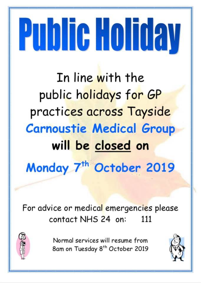 Image of the October closures poster