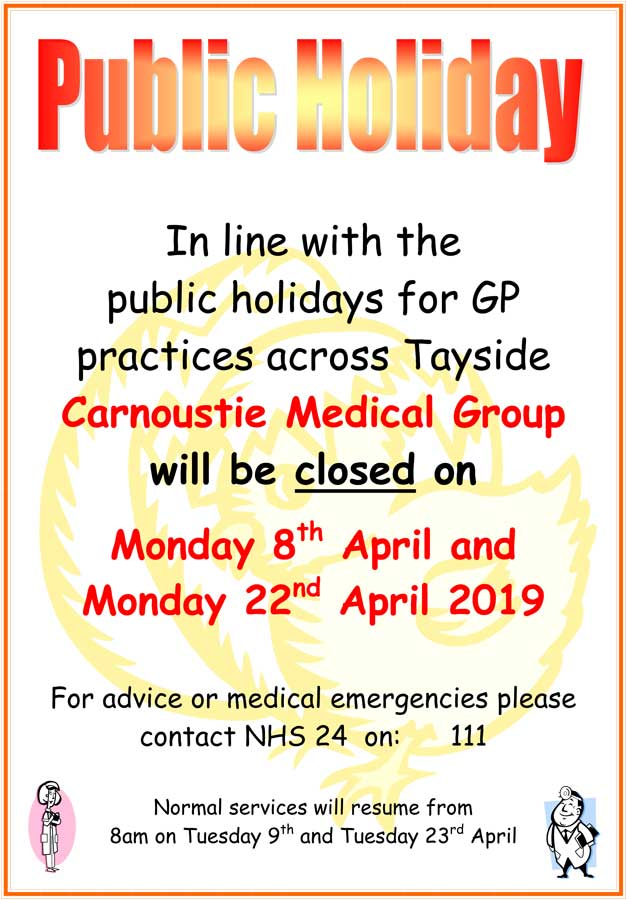 Image of the April closures poster