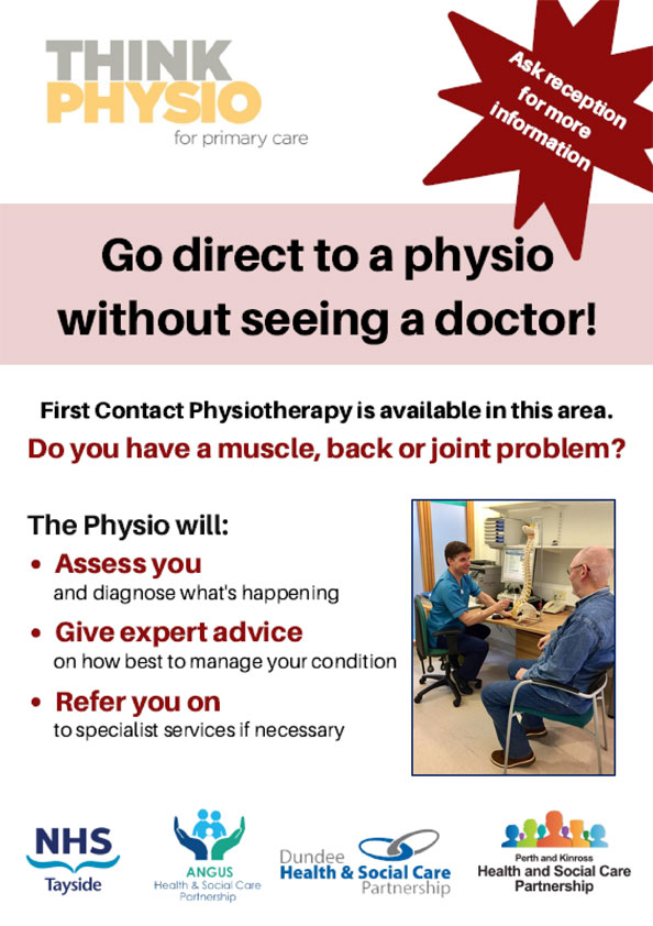 Image of Physio First Poster